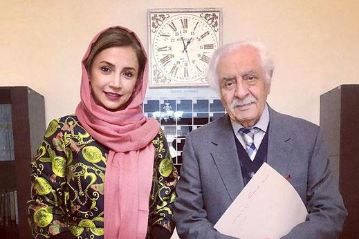 شبنم قلی خانی- استاد عباس جمال پور